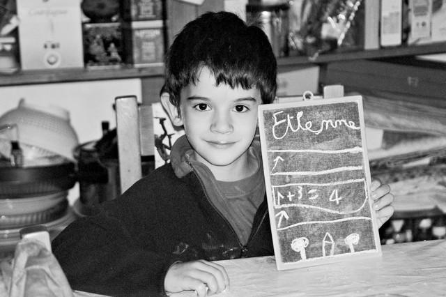 Étienne vers 4 ans